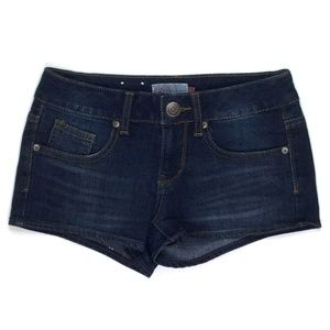 So Jeans Women's Mini Shorts Size 0 W24 Blue